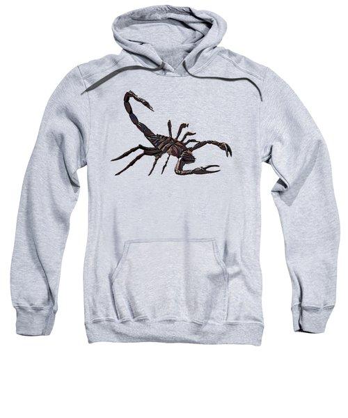 Scorpion Art  Sweatshirt