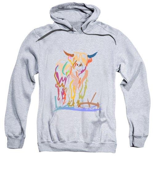 Scottish Highland Cow Sweatshirt