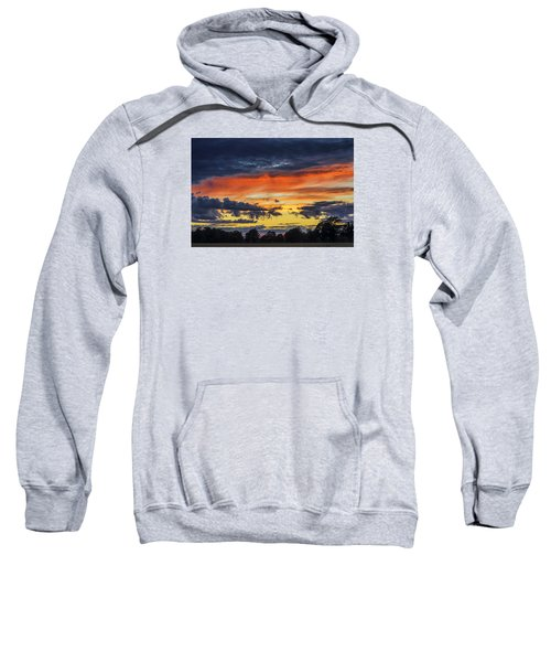 Sweatshirt featuring the photograph Scottish Sunset by Jeremy Lavender Photography