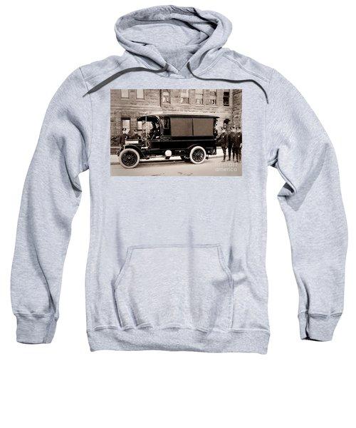 Scranton Pennsylvania  Bureau Of Police  Paddy Wagon  Early 1900s Sweatshirt