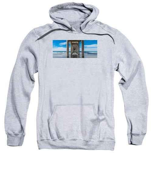 Scripps Pier La Jolla California Sweatshirt