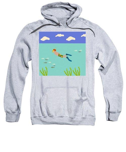 Scuba Boy Sweatshirt