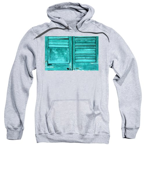 Sea Foam Shutters Sweatshirt