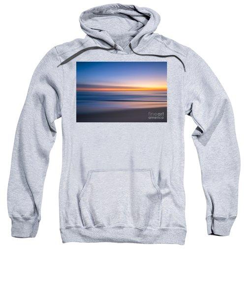 Sea Girt New Jersey Abstract Seascape Sunrise Sweatshirt