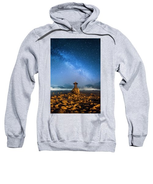 Sea Goddess Statue, Bali Sweatshirt