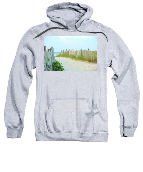 Sea Gull Beach #1 Sweatshirt