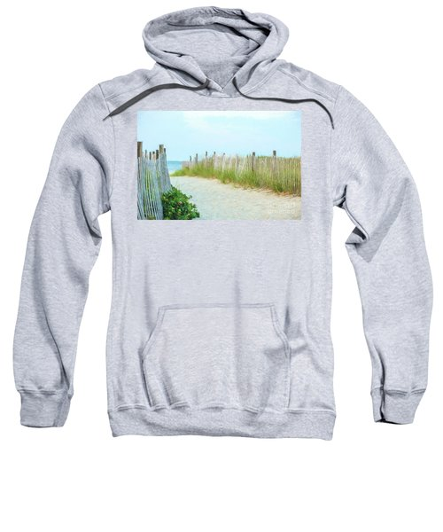 Sea Gull Beach #1 Sweatshirt