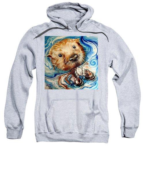 Sea Otter Swim Sweatshirt