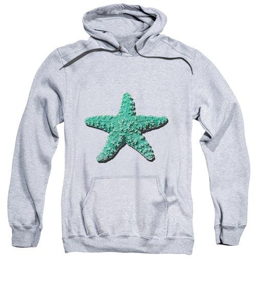 Sea Star Aqua .png Sweatshirt