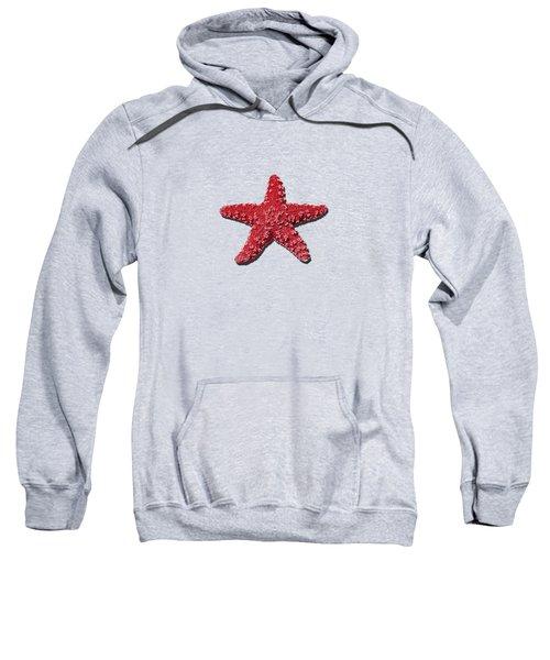Sea Star Red .png Sweatshirt