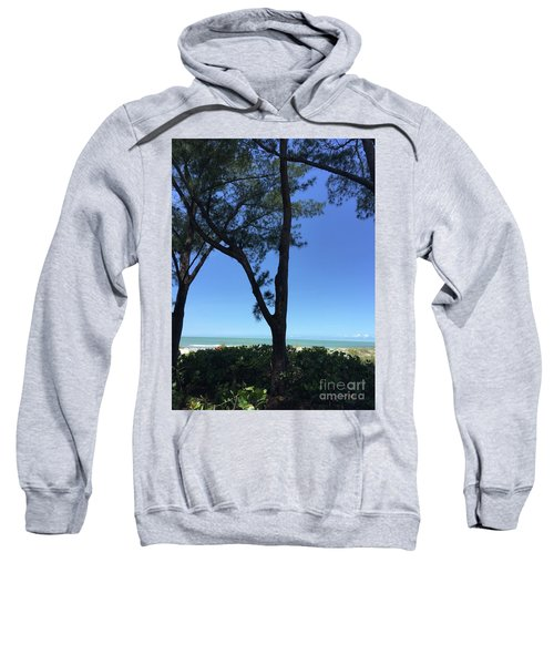 Seagrapes And Pines Sweatshirt by Megan Cohen