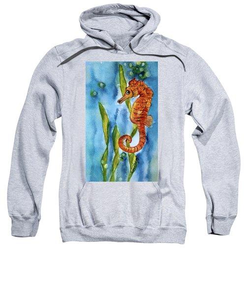 Seahorse With Sea Grass Sweatshirt