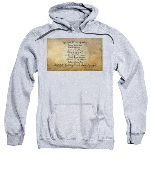 Seconds Become Eons Sweatshirt