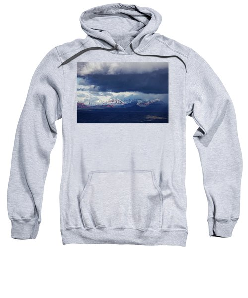 Sedona Area Third Winter Storm Sweatshirt
