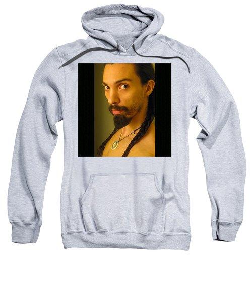 Self Portrait The Native Within Me Sweatshirt