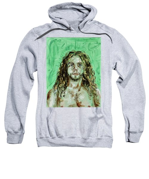 Self Portrait -with Emerald Green And Mummy Brown- Sweatshirt