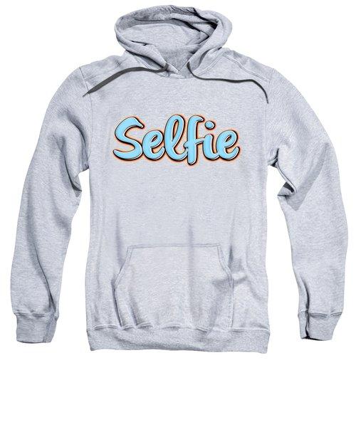Selfie Tee Sweatshirt by Edward Fielding