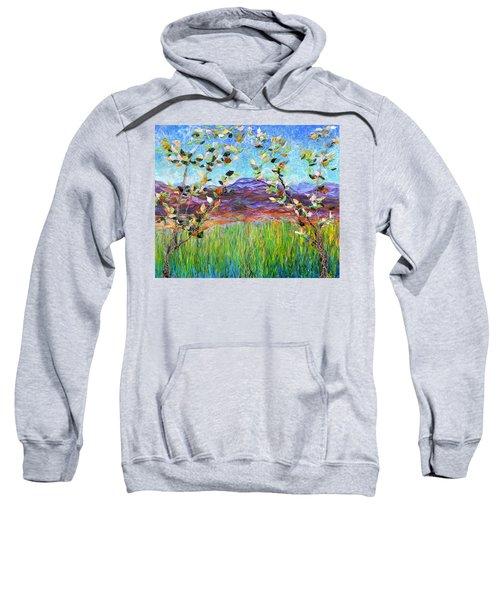 Sentries Diptych Sweatshirt
