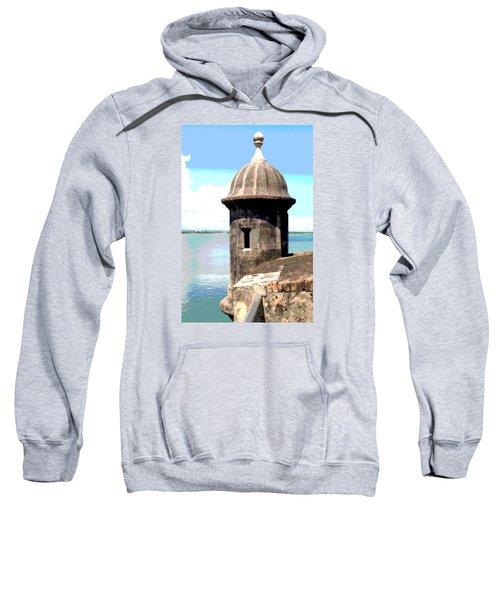 Sentry Box In El Morro Sweatshirt