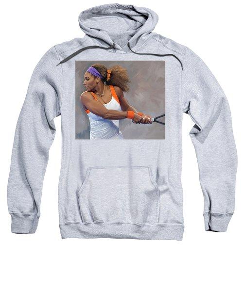 Serena Williams Artwork Sweatshirt