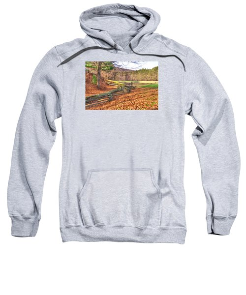 Serene Lake Sweatshirt