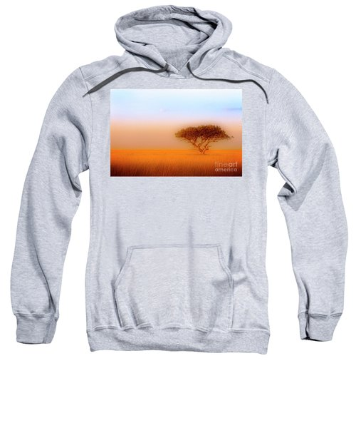 Sweatshirt featuring the photograph Serengeti by Scott Kemper