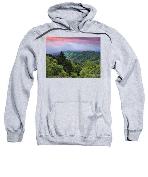 Setting Sun Over The Smokey Mountains Sweatshirt