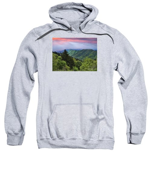 Setting Sun Over The Smokey Mountains Sweatshirt