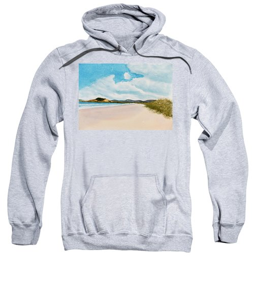 Seven Mile Beach On A Calm, Sunny Day Sweatshirt
