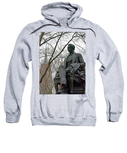 Seward And Empire State Sweatshirt by Sandy Taylor