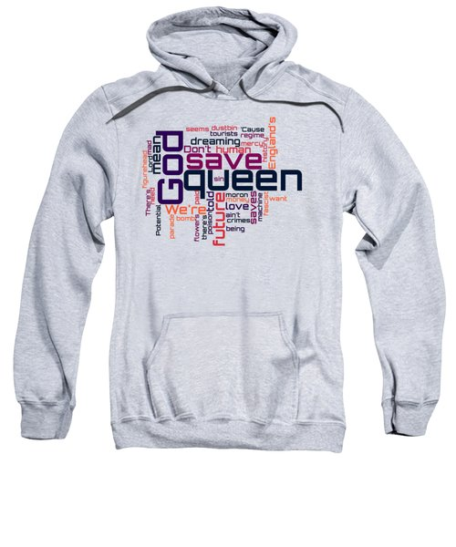 Sex Pistols - God Save The Queen Lyrical Cloud Sweatshirt