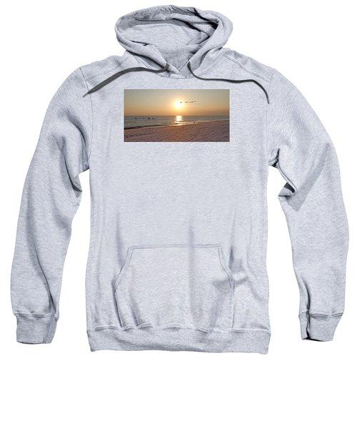 Shackleford Banks Sunset Sweatshirt by Betsy Knapp