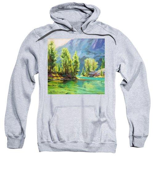 Shades Of Turquoise Sweatshirt