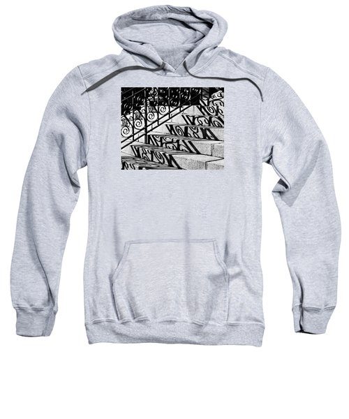 Shadow On The Rotunda Stairs Sweatshirt