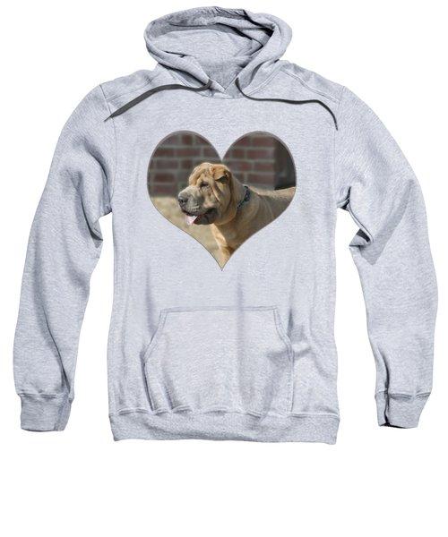 Shar Pei Heart Sweatshirt