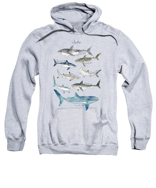 Sharks Sweatshirt by Amy Hamilton