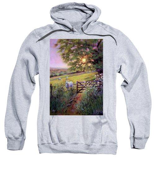 Sheep At Sunset Sweatshirt