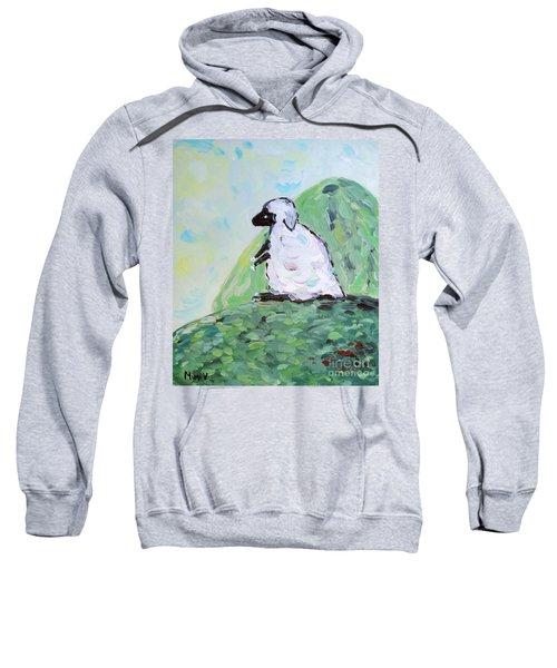 Sheep On A Hill Sweatshirt
