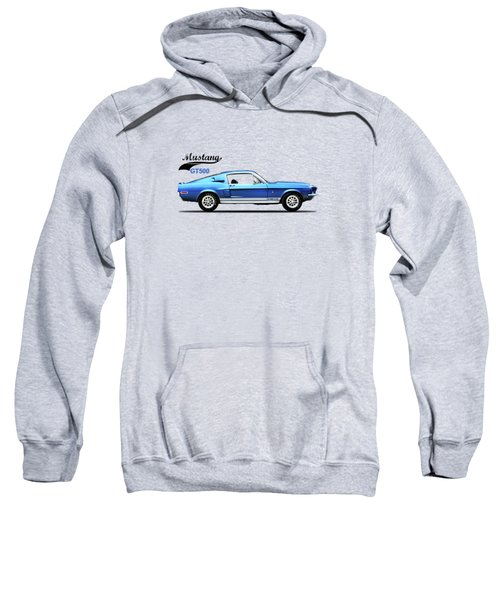 Shelby Mustang Gt500 1968 Sweatshirt by Mark Rogan