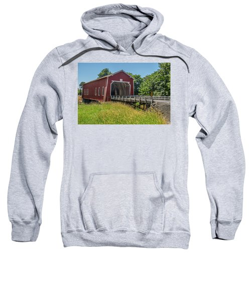 Shimanek Covered Bridge No. 2 Sweatshirt