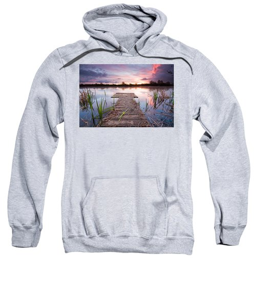 Shinewater Lake Sunrise Sweatshirt