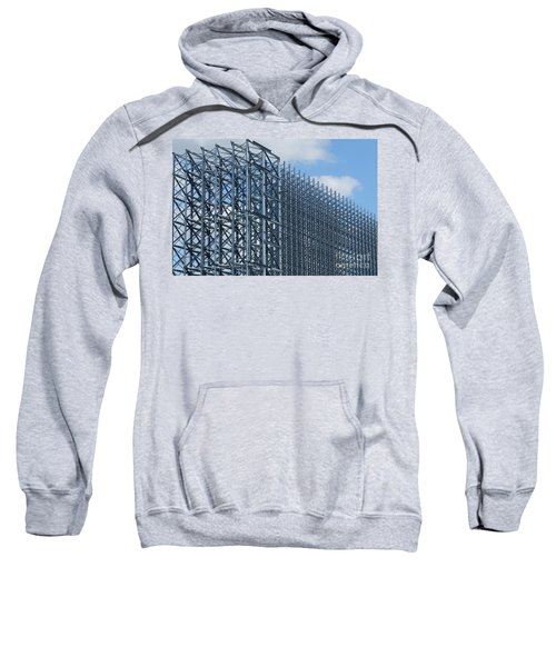 Shiny Steel Construction In Nature Sweatshirt
