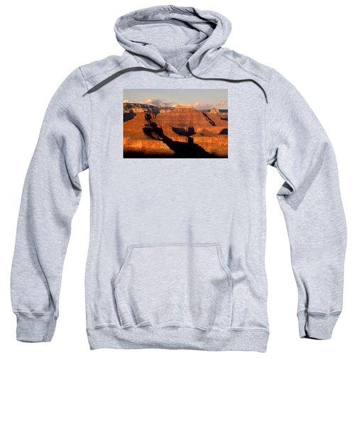 Shiva Temple  At Sunset Grand Canyon National Park Sweatshirt