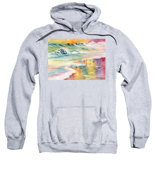 Shoreline Watercolor Sweatshirt