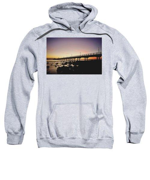 Shorncliffe Pier At Dawn Sweatshirt