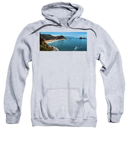 Short Beach, Oregon Sweatshirt