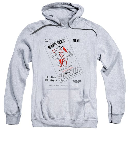 Shrimp In Shorts 1950s Sweatshirt