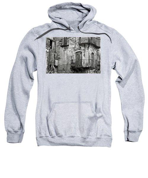Sicilian Medieval Facade Sweatshirt