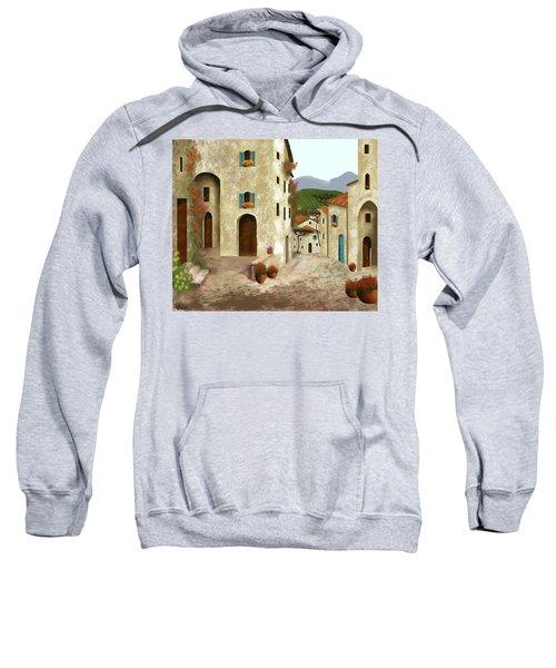side streets of Tuscany Sweatshirt