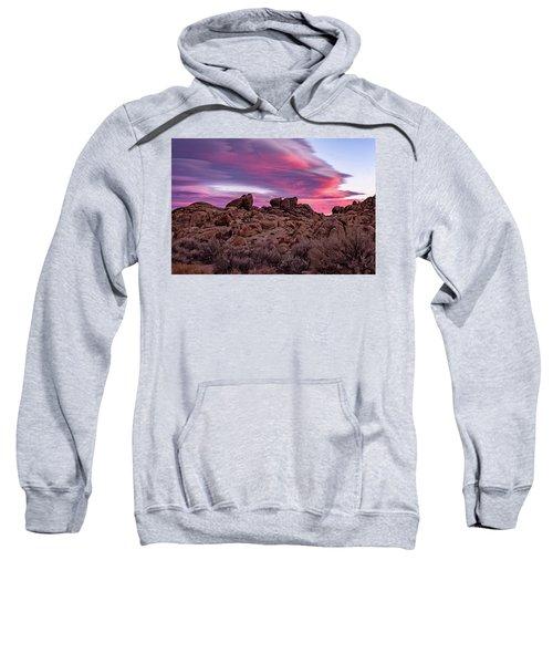Sierra Clouds At Sunset Sweatshirt